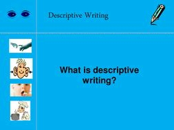 How to write a descriptive essay about my dream house